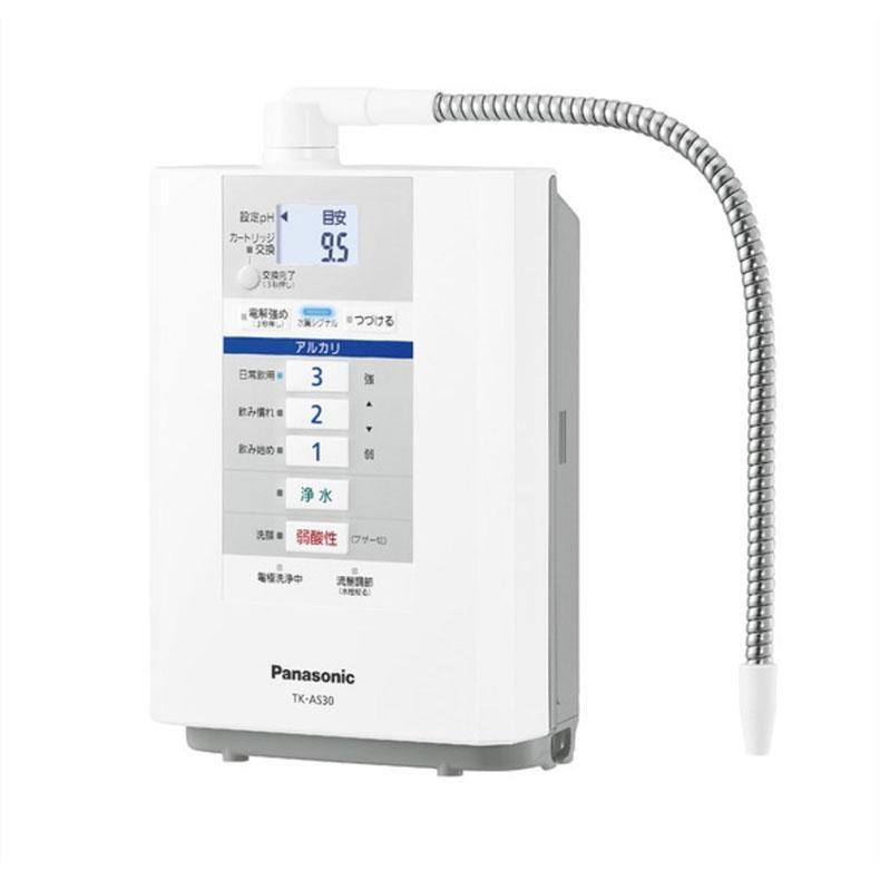 還元水素水生成器 アルカリイオン整水器 浄水器 パナソニック Panasonic TK-AS30 パールホワイト 5つの水 省スペース設計 水切替レバー 水質シグナル