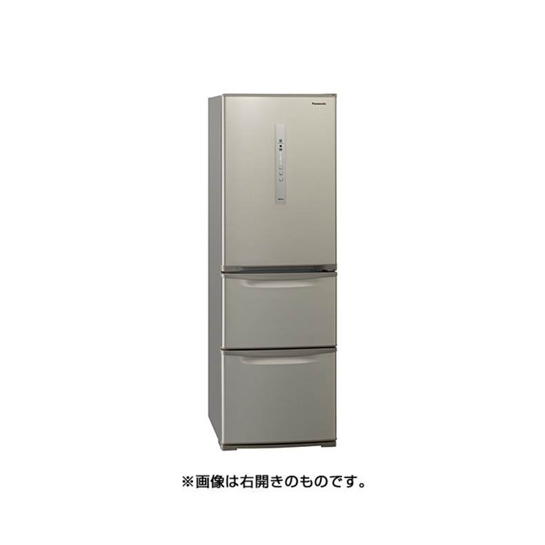 激安な 冷蔵庫 パナソニック Panasonic NR-C371NL-N nr-c371nl-n シルキーゴールド 365L 左開き 3ドア 真ん中野菜室 ECONAVI 自動製氷機能 かしこくエコ 新品 送料無料, 湖南市 8c5520c7