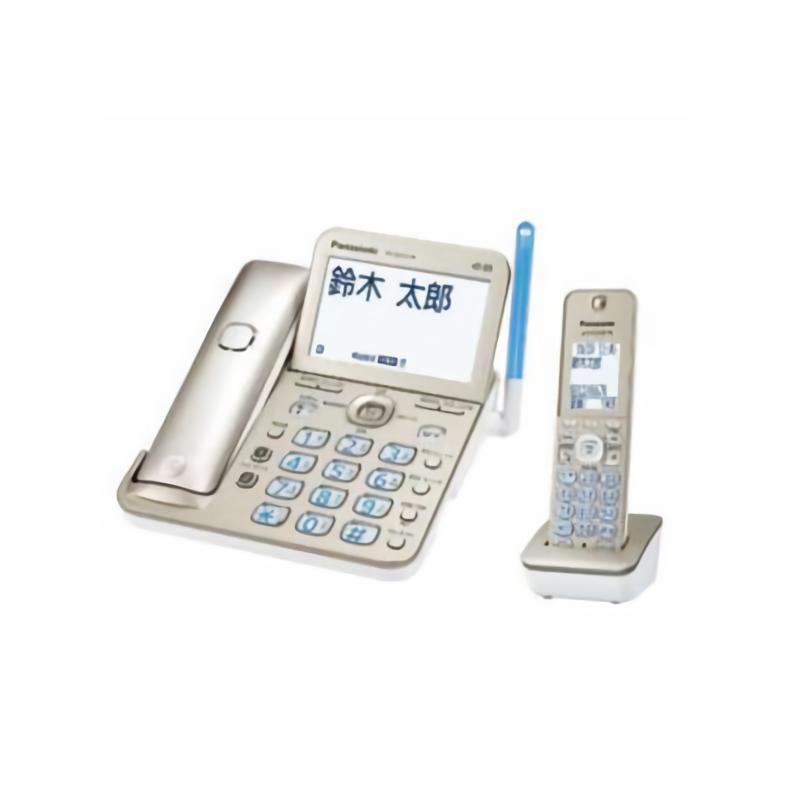 <title>コードレス電話機 パナソニック 新品未使用 VE-GZ72DL 子機1台付 Panasonic シャンパンゴールド SDカード 自動録音 着信お知らせLED 迷惑電話防止対策</title>