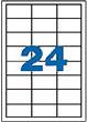 【APLI】アプリ 宛名・ネーム用粘着ラベル(マルチタイプ)24面(64.6×33.8mm)×500シートRef.01781【事務用品 オフィス 文房具 ステーショナリー】【おしゃれ 海外 輸入】【デザイン文具ならイーオフィス】