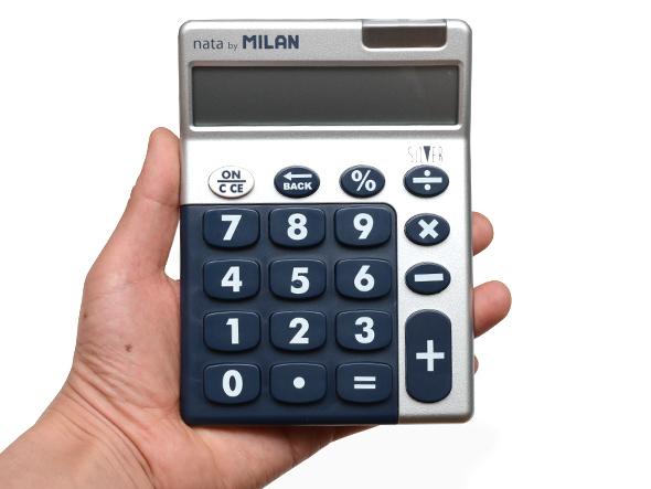 ブランド別>スペイン>MILAN(ミラン)>ミラン電卓カラフル