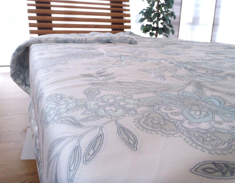 西川 真綿布団 シングルサイズ 日本製 シルク 送料無料 真綿掛け布団 1.0kg