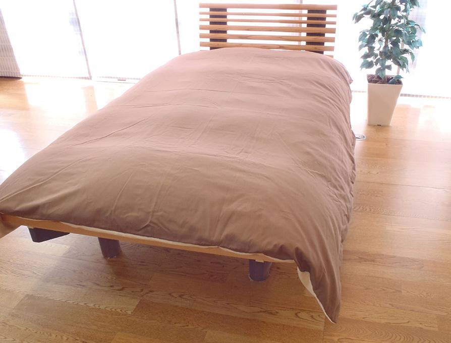 【2枚セット】西川リビング シングルサイズ 綿100% あたたか 掛け布団カバー(日本製) (150cm×210cm)