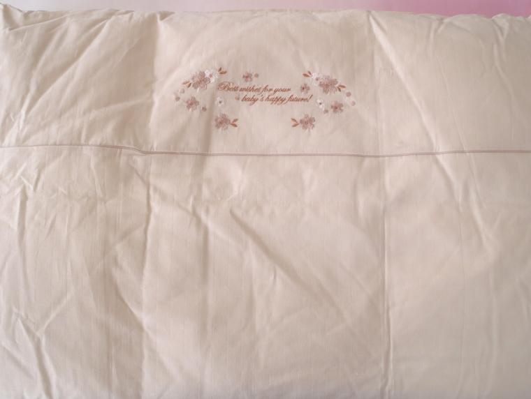 京都西川 ベビーサイズ ペアタイプ 羽毛掛け布団(日本製)(アウトレット品)