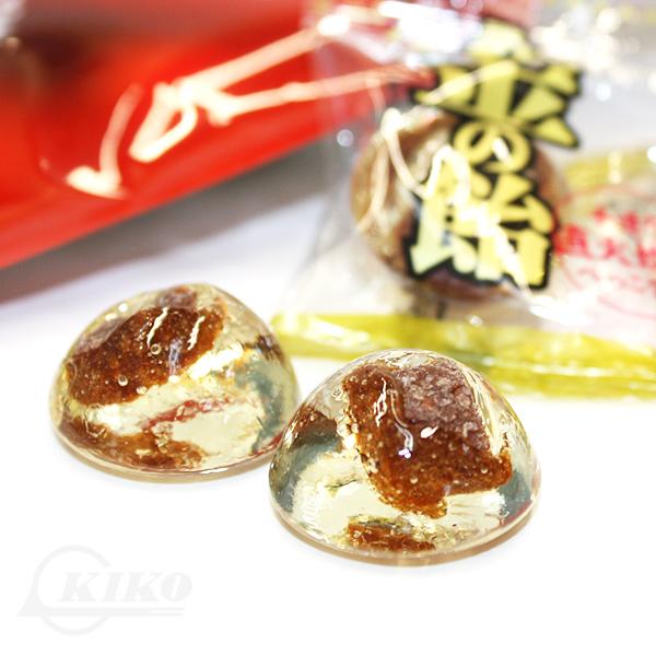 金の飴 52g×60袋 (1ケース)タネなし梅入り  │沖縄土産 沖縄お土産 お菓子 シーワン│