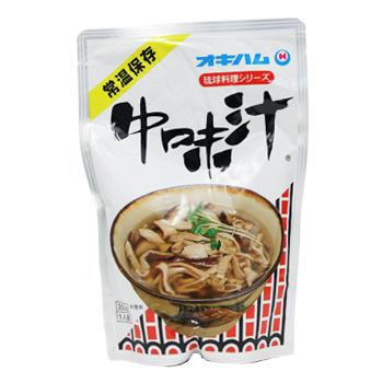 優先配送 オキハムの琉球料理シリーズ 日本メーカー新品 オキハム 中味汁 ※豚モツ なかみ汁 350g