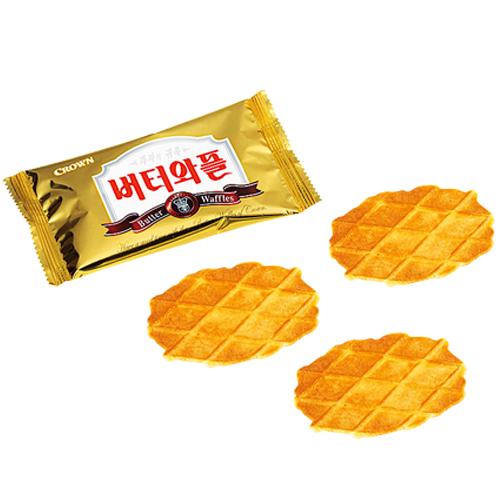 【韓国 お土産】韓国 お菓子 バターワッフルクッキー1箱|クッキー アジア 食品 韓国土産 おみやげ p15