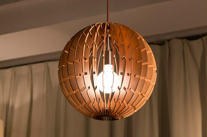 ペンダントライト シーリングライト LED おしゃれ 照明 木製 インテリア 球体 ダイニング 和室 led 和風 北欧 軽い 木製照明 丸 地球