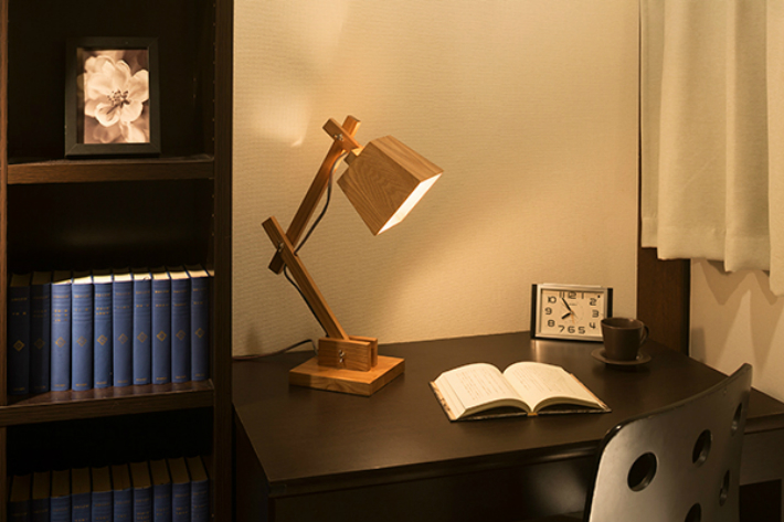 テーブルライト スタンドライト デスクライト LED おしゃれ 照明 木製 インテリア レトロ 卓上照明 和風 led 北欧 木製照明 テーブル 棚 勉強机 机 折り畳み
