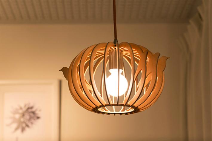 ペンダントライト シーリングライト LED おしゃれ 照明 木製 インテリア ダイニング 和室 led 和風 北欧 鳥 かわいい 軽い 木製照明 吊り下げ ライト 鳥小屋 とり