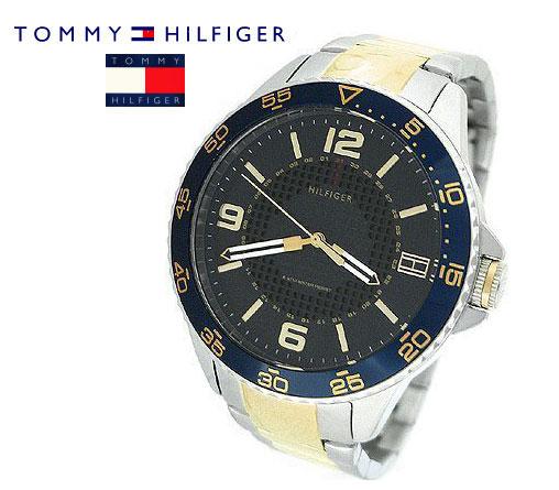 送料無料 ラッピング無料 即日発送可能 在庫処分 TOMMY HILFIGER 腕時計 トミーヒルフィガー 並行輸入品 秀逸 1790839 メンズ