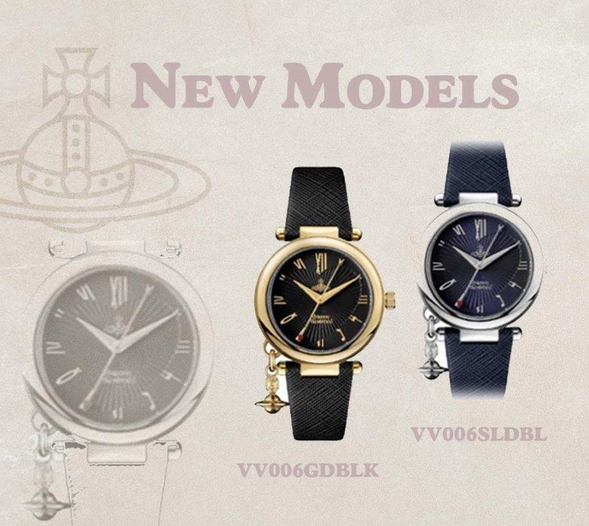 NEW ラッピング無料 販売実績No.1 vivienne westwood ヴィヴィアン ウエストウッド 新しいモデル vv006 レディス 並行輸入品 VV006SLDBL 商店 Heart VV006GDBLK レディース 最新腕時計 Orb