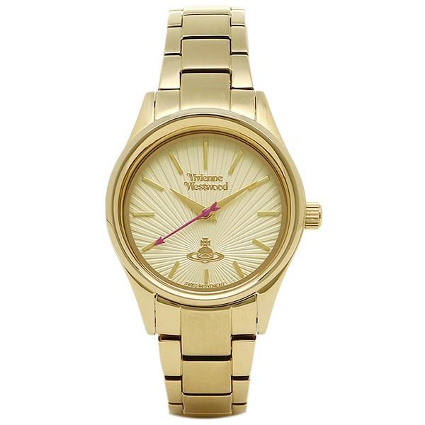 Vivienne Westwood ヴィヴィアンウエストウッド 腕時計 VV111GD レディース