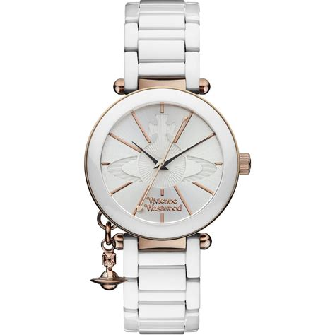 Vivienne Westwood ヴィヴィアンウエストウッド 腕時計 VV067RSWH レディース