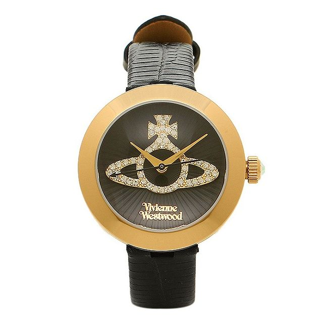 Vivienne Westwood ヴィヴィアンウエストウッド 腕時計 VV150GDBK レディース