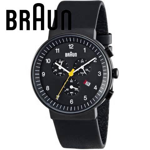 【海外正規品】 BRAUN ブラウン 腕時計 BN0035BKBKG メンズ
