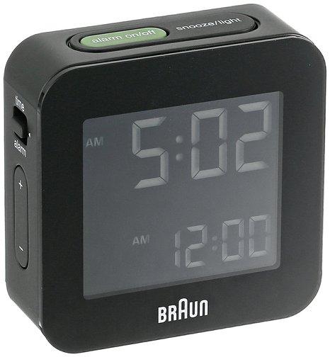 BRAUN ブラウン 置き時計 デジタルクロック BNC008BK【並行輸入品】