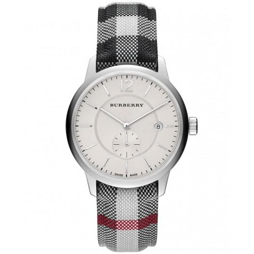 【スーパーセール価格】【スーパーSALE】完売間近! BURBERRY バーバリー 腕時計 BU10002 チェック柄ベルト メンズ/レディース【並行輸入品】