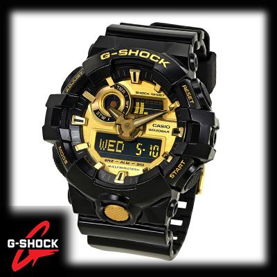あす楽 スピード対応 全国送料無料 G-SHOCK Gショック ジーショック デジタル GA-710GB-1A G-ショック 高い素材 カシオ 海外モデル 腕時計 CASIO 並行輸入品