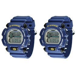 【特典付き】CASIO カシオ G-SHOCK G-ショック DW-9052-2VDR&DW-9052-2VDR 海外モデル 腕時計 ペアウォッチ
