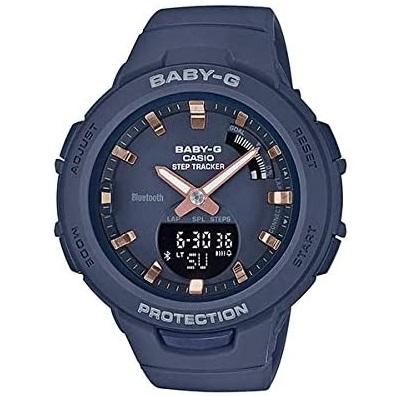あす楽 G-SHOCK Baby-G ベイビージー BSA-B100-2A 海外モデル CASIO レディース 並行輸入品 腕時計 ブルー カシオ 限定モデル 無料サンプルOK