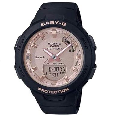 あす楽 サービス G-SHOCK Baby-G ベイビージー BSA-B100MF-1A 海外モデル レディース 並行輸入品 CASIO ブラック ランキングTOP5 腕時計 カシオ