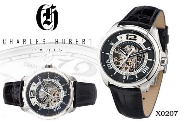 送料無料 ラッピング無料 限定セール中 新作腕時計入荷 新品 ビジネス スポーツウォッチ チャールズヒューバート セールSALE%OFF HUBERT CHARLES X0207 デザインウォッチ メンズ 上質