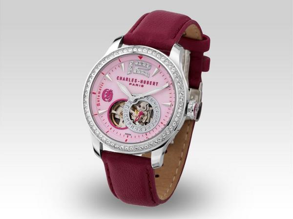 CHARLES HUBERT PARIS チャールズ・ヒューバート・パリ 腕時計 X0234-010 レディース