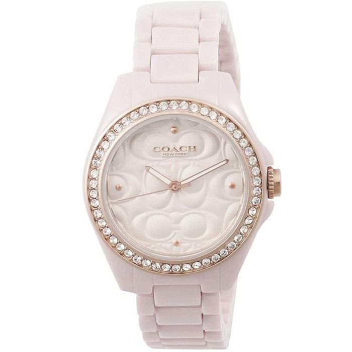 1年保証 美品 送料無料 ラッピング無料 COACH コーチ 腕時計 レディース アナログ ブレスレット 14503256 並行輸入品 セラミック