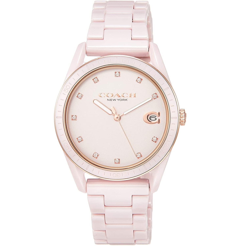 送料無料 ラッピング無料 COACH コーチ 腕時計 レディース 買い物 セラミック 通販 激安 ブレスレット アナログ 14503264 並行輸入品