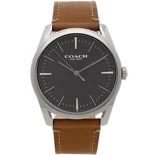 2020 新作 あす楽 送料無料 男性にも人気のCOACH ラッピング無料 COACH 並行輸入品 14602396 メンズ 保障 コーチ 腕時計
