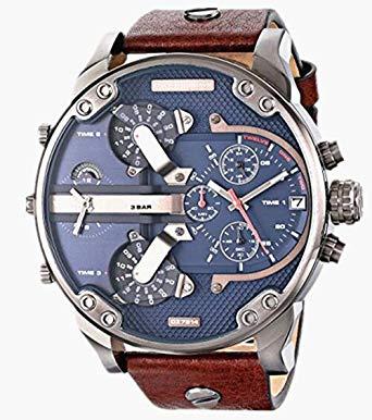 送料無料 ラッピング無料 DIESEL 2020 ディーゼル 腕時計 公式ストア クロノグラフ DZ7314 メンズあす楽 レザーベルト