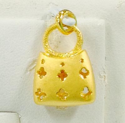 K24純金 999.9 ペンダントトップ bag01