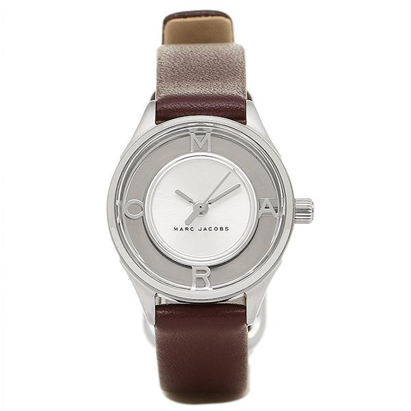 マークジェイコブス 時計 MARC JACOBS MJ1461 TETHER ティザー レディース腕時計ウォッチ シルバー/ブラウン