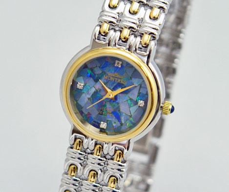 MONTRES モントレス 腕時計 009L 天然オパール レディース【並行輸入品】