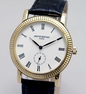 ラッピング無料 公式 即日発送可能 Pierre Talamon ピエール 腕時計 PT-5100H メンズ タラモン 定番キャンバス PT-5100H-2