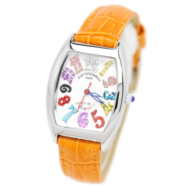激安挑戦中 定番 ラッピング無料 即日発送可能 Pierre Talamon ピエール 腕時計 レディース タラモン PT-8500L-10R