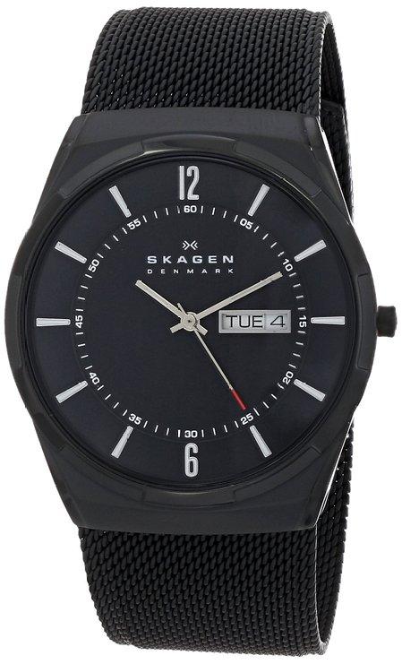 ラッピング無料 送料無料 SKAGEN スカーゲン 腕時計 SKW6006 ブラック アクティブ 交換無料 Aktiv 並行輸入品 メンズ