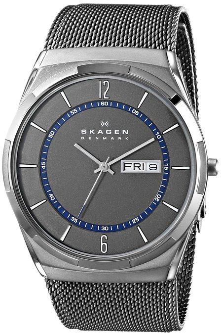 送料無料 ラッピング無料 [再販ご予約限定送料無料] SKAGEN スカーゲン 腕時計 SKW6078 メンズ Aktiv チタニウム Titanium メッシュ グレー×シルバー 並行輸入品 正規激安 アクティブ Mesh