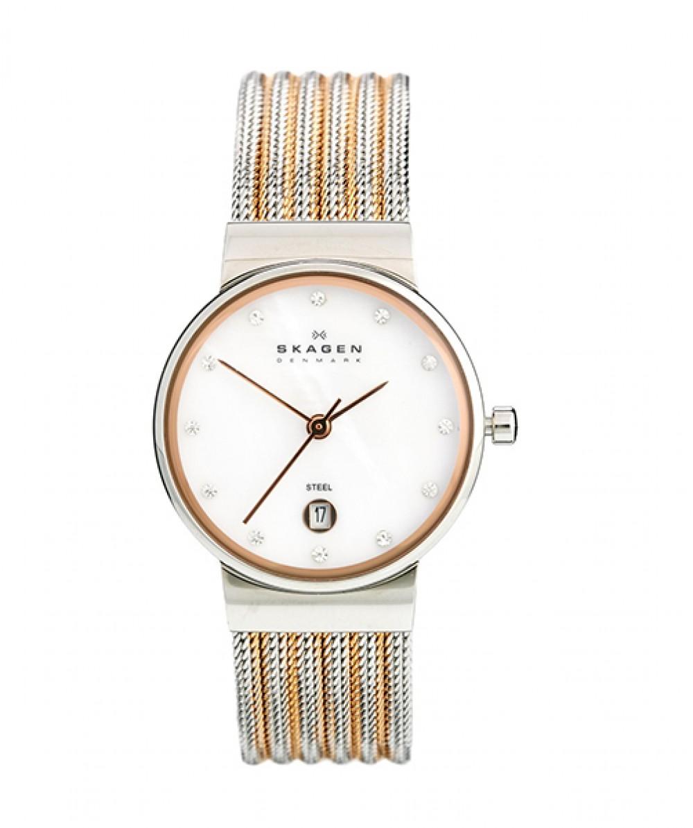 送料無料 ラッピング無料 即日発送可能 SKAGEN 355SSRS メーカー公式ショップ スカーゲン ついに再販開始 レディース 腕時計