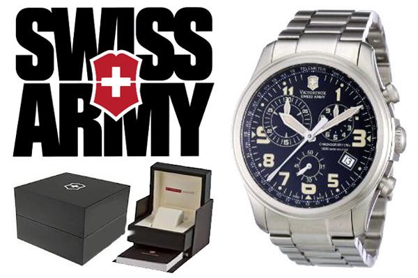 VICTORINOX ビクトリノックス SWISS ARMY 腕時計 241313 ブラック メンズ