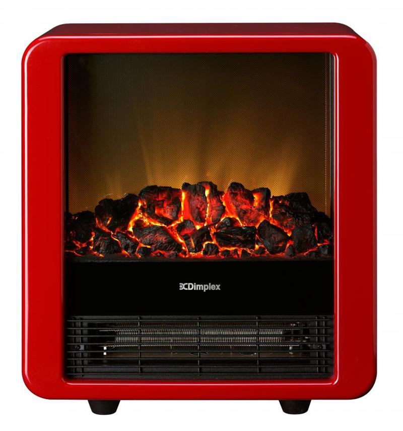 Dimplex(ディンプレックス)『 電気暖炉 Mini Cube』 ミニキューブ レッド MNC12RJ