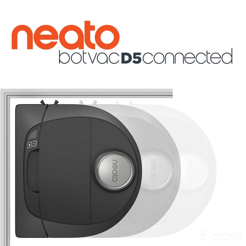 『Neato ネイト BV-D502』ロボット掃除機 ネイトBotvac D5 Connected