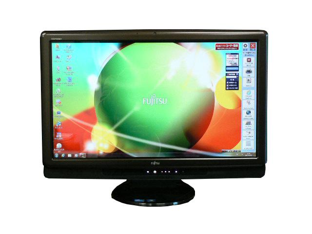 富士通 デスクトップパソコン 中古パソコン FH700/5AT ブラック デスクトップ 一体型 本体 Windows7 Core i5 ブルーレイ 4GB/1TB 送料無料 【中古】