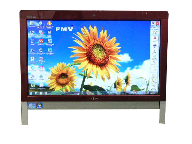富士通 FUJITSU 液晶一体型 有名な Windows7 SSD Windows 10 選択可 人気急上昇 FH56 DD レッド デスクトップパソコン Core BS 地デジ 4GB 中古 CS 1TB ブルーレイ 中古パソコン 送料無料 i5