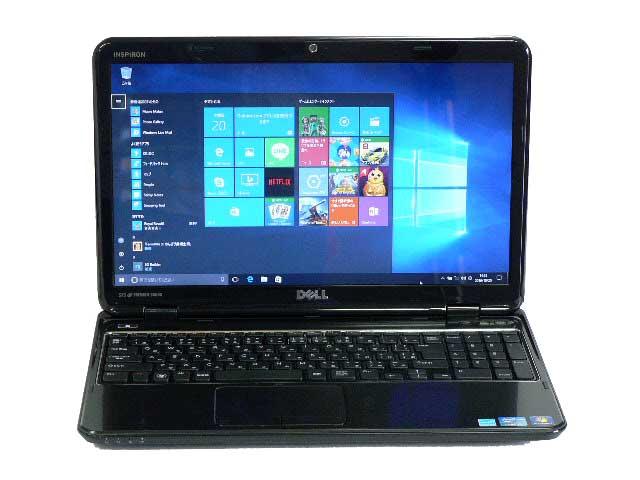 ノートパソコン 中古パソコン Inspiron N5010 ブラック ノート 本体 Windows10 DELL Core i5 DVD 4GB/500GB 送料無料 【中古】