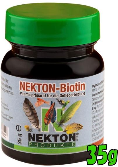 羽毛発育促進の為の鳥類用栄養補助食品ネクトン-BIO 無料 希少