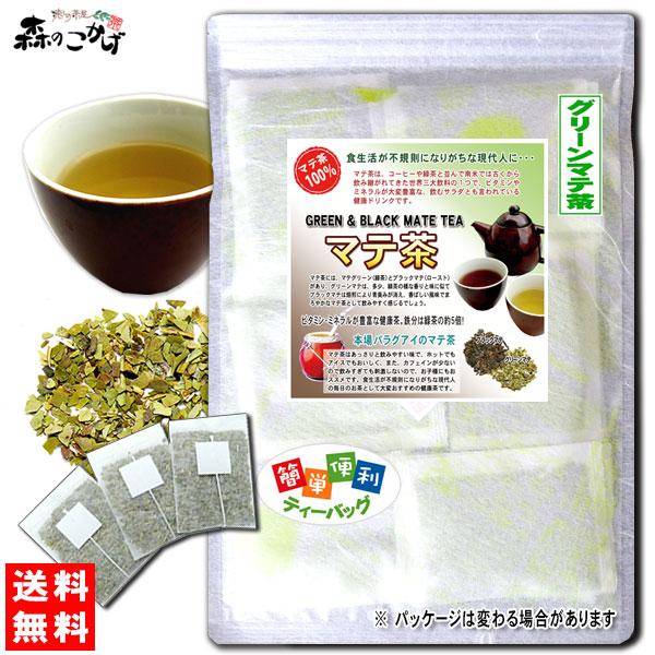 マテ茶 (グリーン) (2g×40p) グリーンマテティー L【送料無料】 マテ茶 (グリーン) (2g×40p)「ティーバッグ」 グリーン マテティー 飲む野菜 のお茶 まてちゃ マテチャ 健康茶 ティーパック 森のこかげ 健やかハウス