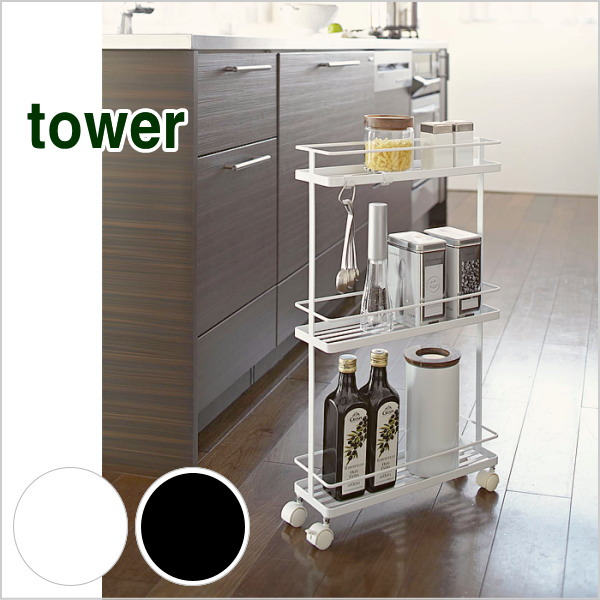 Kitchen Trolley / Gap Storage / Caster / Seasoning Stocker / 12 Cm / Slim /