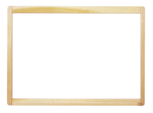 【個人宅配送不可】【時間指定不可/日祝配達不可】天然ポプラ材枠 壁掛けホワイトボード ウットー マーカーホワイトボード WO-NH609 H680×W950mm 【T026】【メーカー直送1】